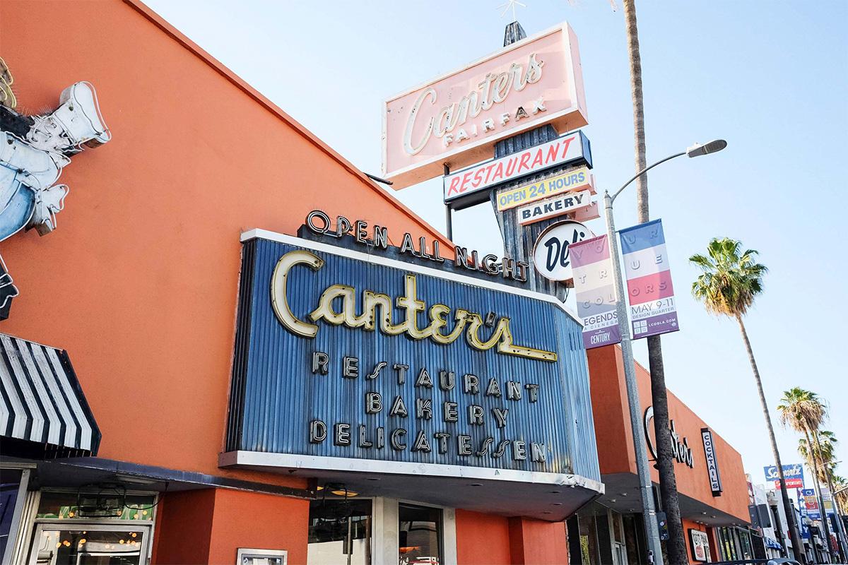 Canter's Deli, Los Angeles
