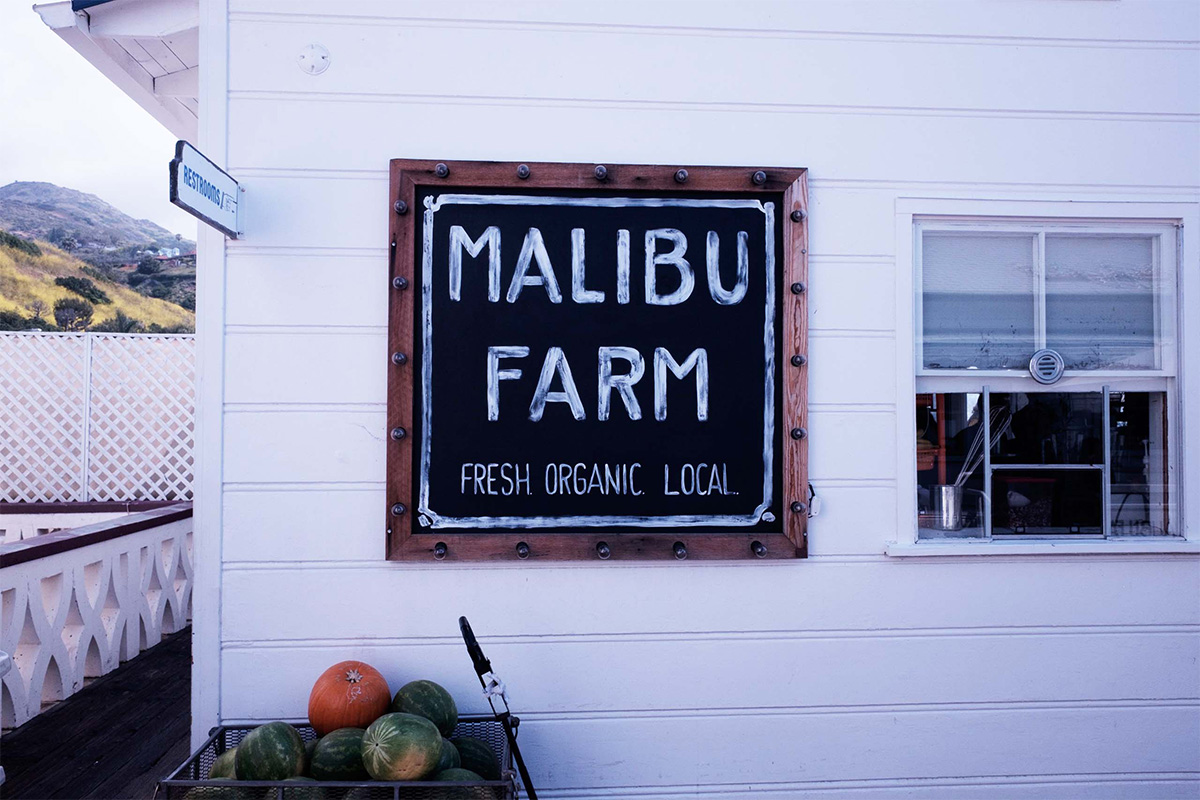 Malibu Farm Cafe, Los Angeles