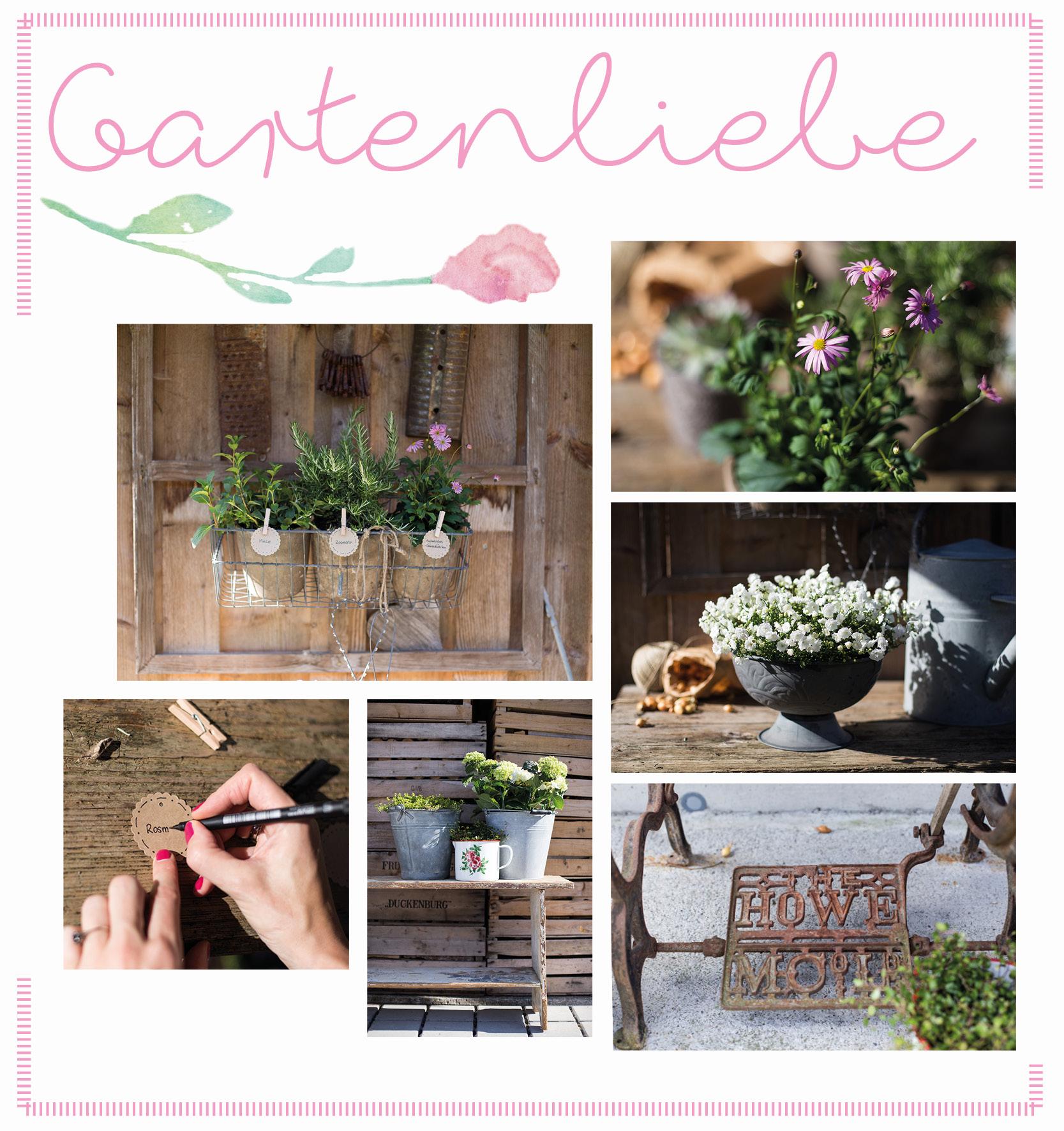 Gartenliebe heißt Liebe zum Detail. Was nicht fehlen darf: Gartendeko