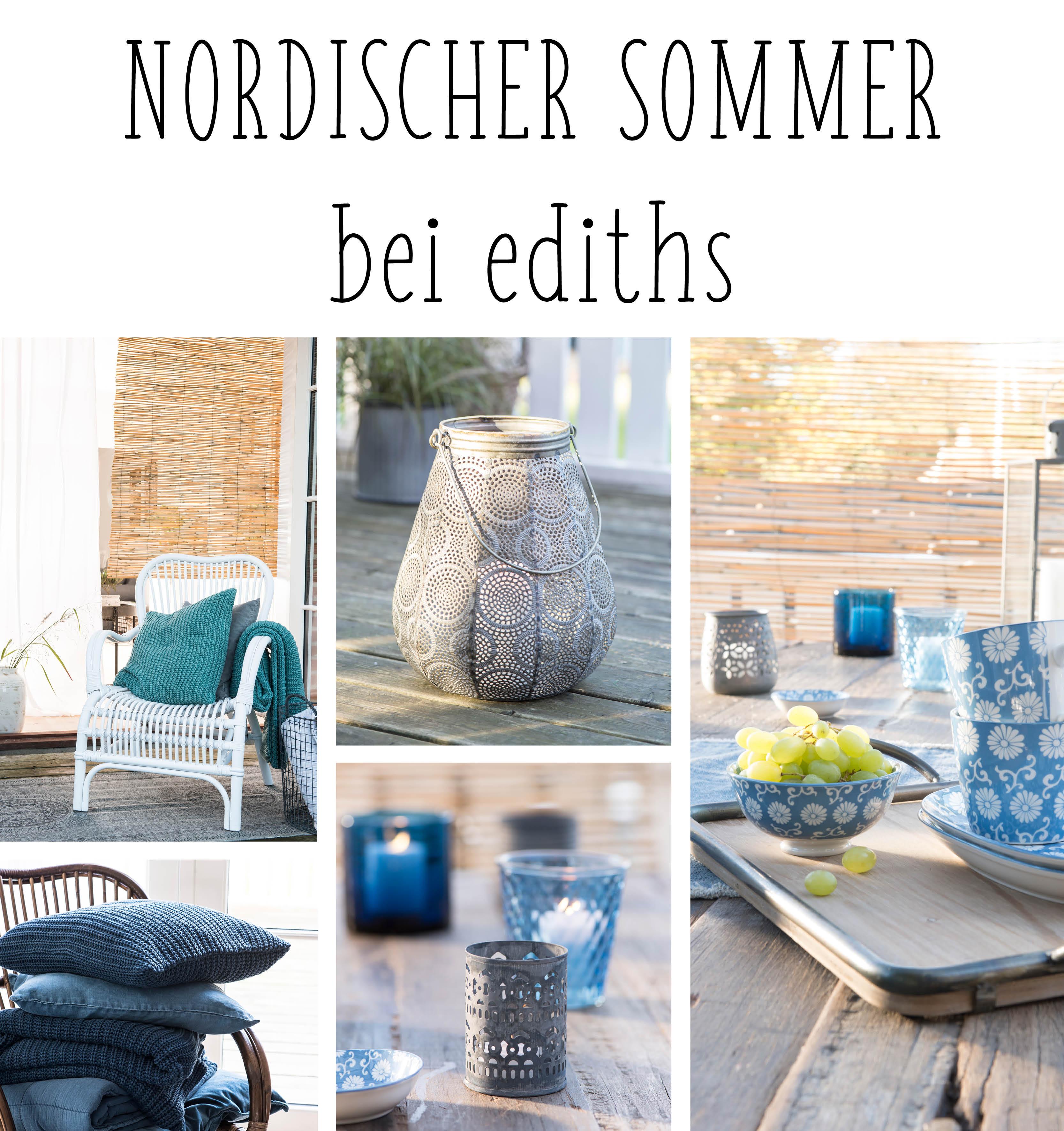 Nordischer Sommer bei ediths: Hol dir mit taufrischer Sommerdeko den Sommer nach Hause!