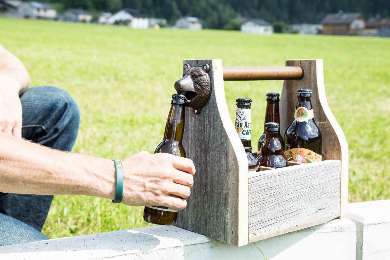 diy bierträger